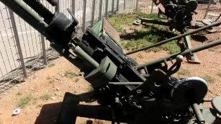 ZPU AA  heavy machine Gun Soviet   Vietnam