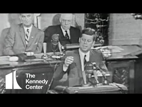 President John F. Kennedy Speech to Congress On Space Exploration