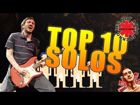 Top10 solos John Frusciante  Red Hot Chili Peppers  RHAE