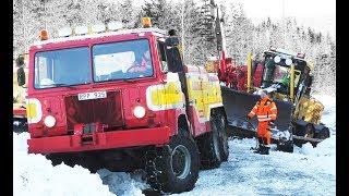 Heavy Recovery - Scania SBAT111 6x6 & Scania 124 6x6 - Sweden - 4K