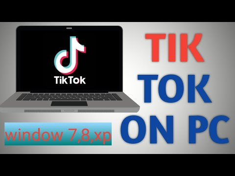 How To Download Tik Tok On Pc LAPTOP Window 7 8 8.1 And Xp