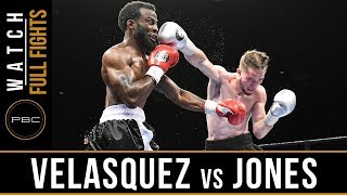 Velasquez vs Jones HIGHLIGHTS: September 19, 2017 - PBC on FS1