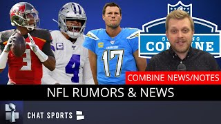 NFL Rumors On Dak Prescott, Jameis Winston, Philip Rivers To Colts? NFL CBA Latest, 2020 NFL Combine