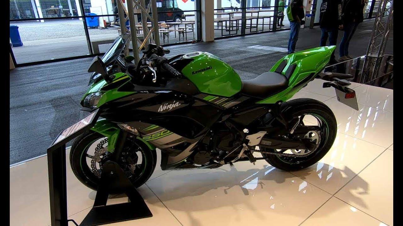 kawasaki ninja 650 krt edition akrapovic exhaust new model 2018 walkaround