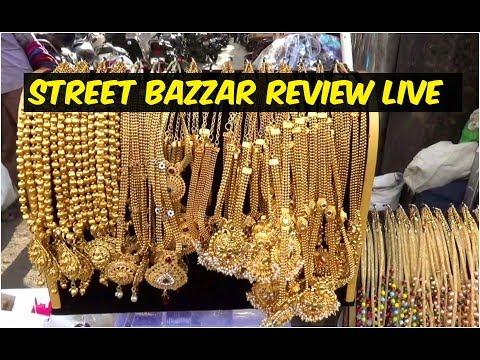 #T.NagarStreetBazzar Fashion Jewellery Direct Review Vlog #2 || J K Fancy Store Chennai