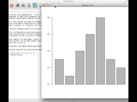 Creating Bar Graph On R