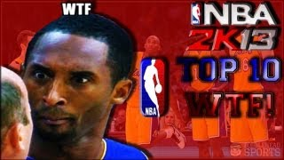 "NBA 2K13 TOP 10 ""NOT SO HOT"" Plays of the WEEK vol. 1 