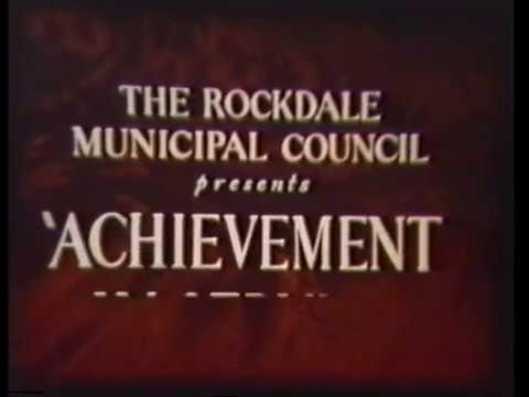 Local History: Rockdale Municipal Council - Achievement In Service