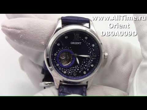 Обзор. Женские механические наручные часы Orient DB0A009D