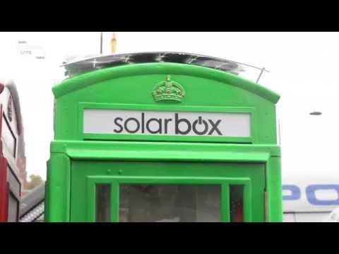 Solarbox - turning old phone boxes into solar charging stati