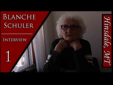 Blanche Schuler | Books, Poem, and Rock Creek School | History Interview