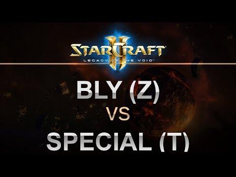 StarCraft 2 - LOTV 2017 - Best of 5 - Bly (Z) v Special (T)