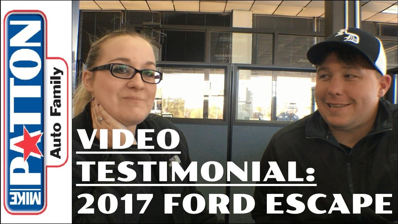 Mike Patton Ford >> Video Testimonial 2017 Escape For Mr And Mrs Rammage From Mike