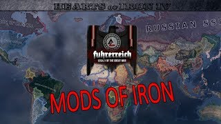 Mods of Iron 4: Fuhrerreich: Legacy of the Great War (HoI4 Mod Highlight)