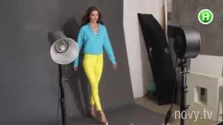 Элла Кандыба. Как снимали рекламную кампанию «Супермодель по-украински-2(Закадровое видео со съемок рекламной кампании нового сезона шоу