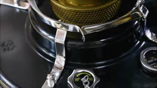アラジンのストーブはメンテしやすいように上部を取り外せます。(動画...