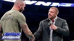 Randy Orton apologizes to Triple H: SmackDown, Dec. 13, 2013