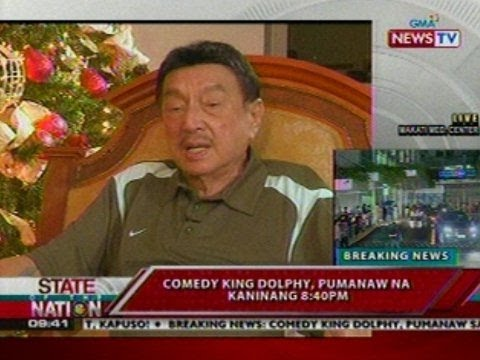December 2010 interview with Dolphy on 'Tonight with Arnold Clavio'