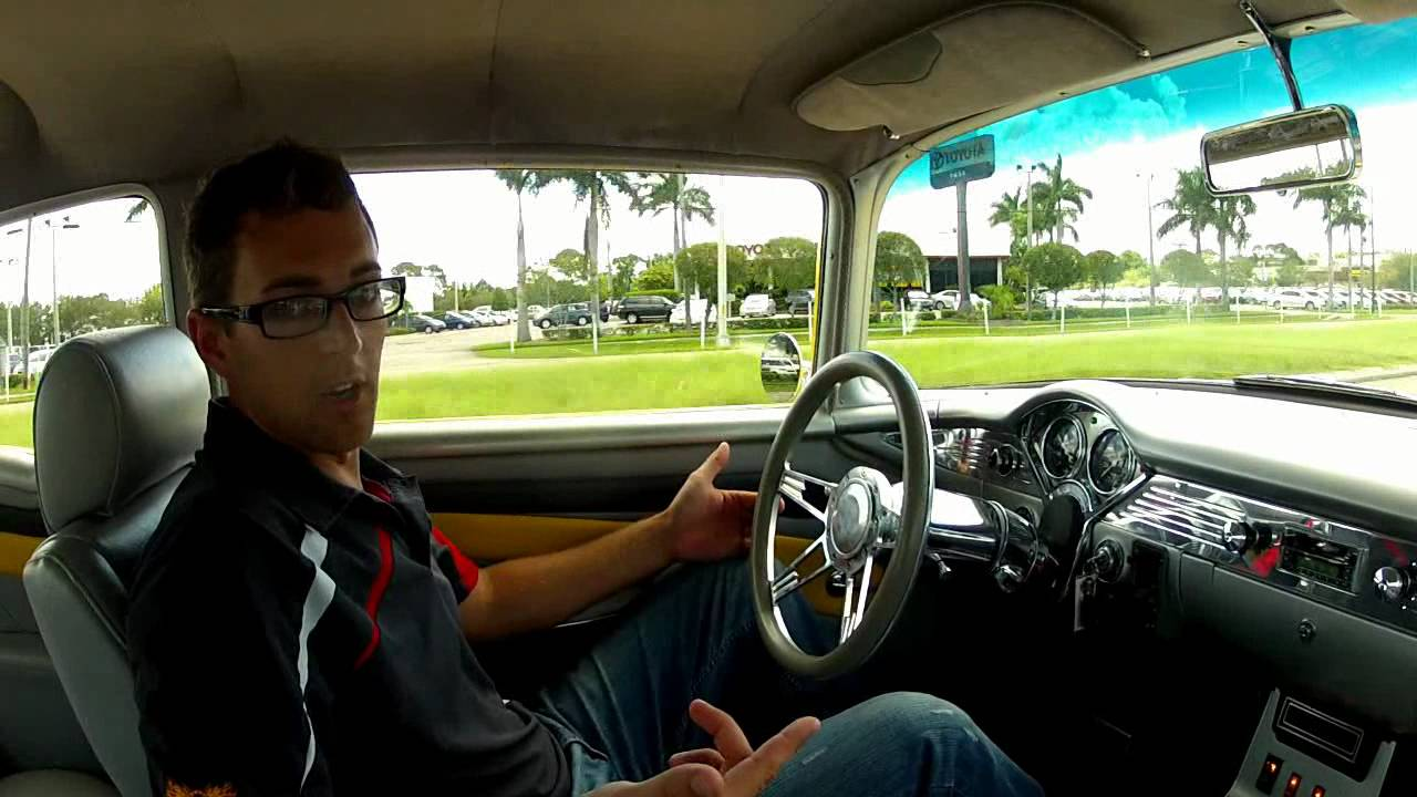 1955 Bel-Air Pro Touring IDEAL CLASSIC CARS 941-966-1900 - YouTube