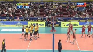 Всемирный кубок чемпионов 4 тур Бразилия-Россия 231113 2 часть