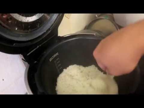 Рисовая каша в мультиварке bork