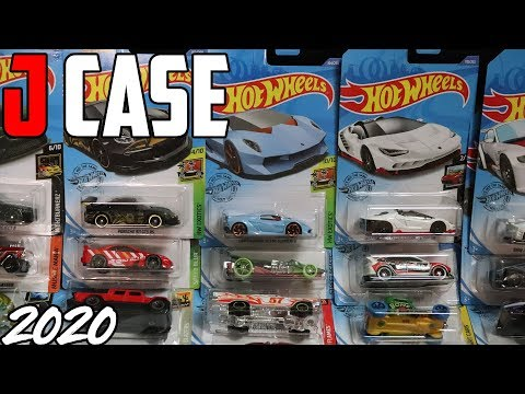 UNBOXING HOT WHEELS 2020 J CASE | JonRacer3