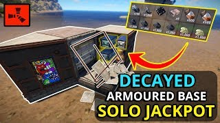 Gambar cover RICH Rust Decayed Bases Have JACKPOTS For SOLO PLAYERS! - RUST SOLO