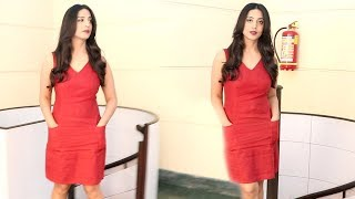 Actress Mahie Gill Snapprd For Media While Promoting Her Upcoming Film Doordarshan