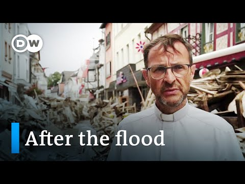 Germany: Aftermath of Disaster Entire Villages Wiped Out, 160 People Dead
