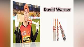 Vivo IPL 2018 ! Top Five players  used heavy bats in the World ! Cricket bats !