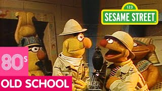 Sesame Street: Bert and Ernie in a Pyramid