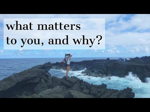 """My """"What matters to you and why"""" Stanford Essay"""