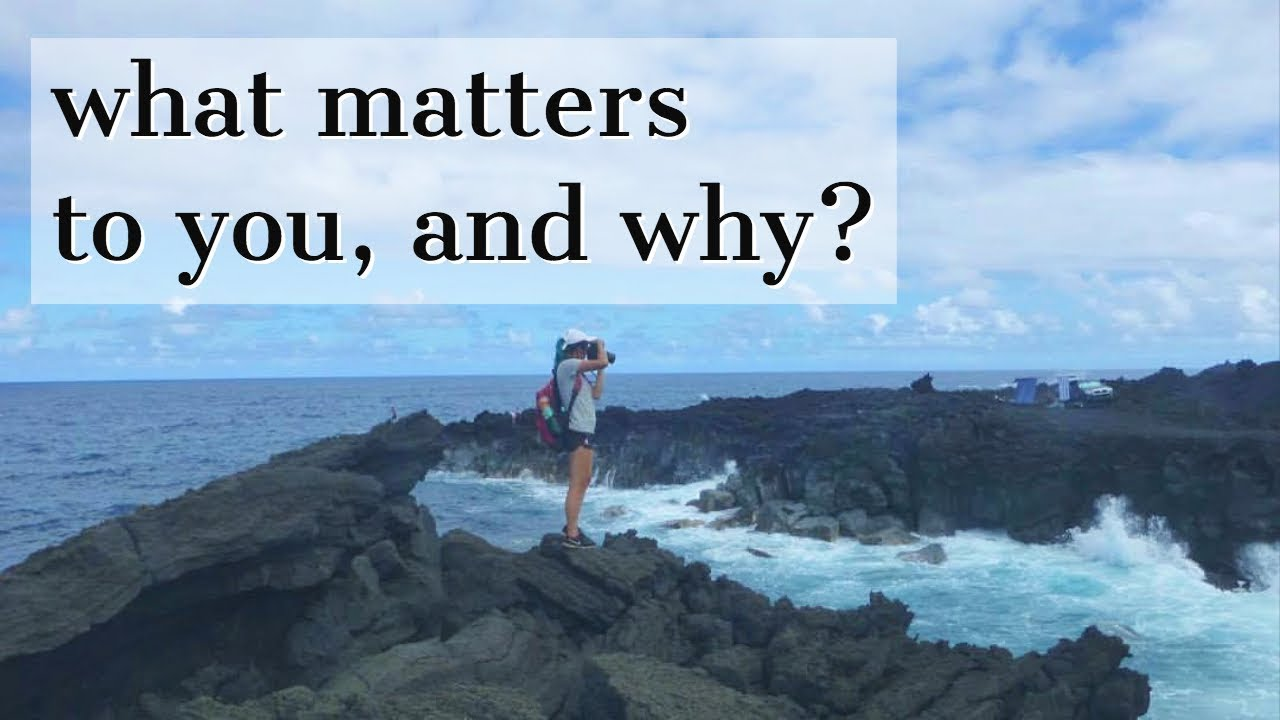 what matters to you and why stanford