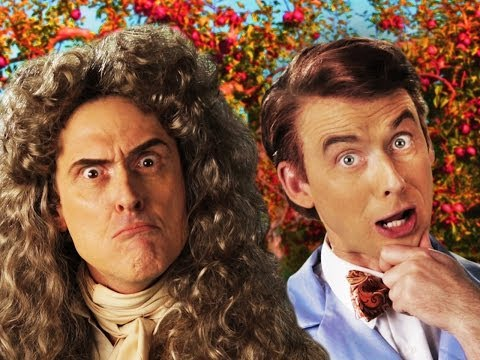 Видео: Sir Isaac Newton vs Bill Nye. Epic Rap Battles of History Season 3