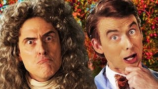 Sir Isaac Newton vs Bill Nye. Epic Rap Battles of History thumbnail