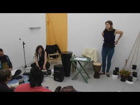 Karaoke Lecture by Anna Kinbom with Linnea Carlsson Bay_Part 7/9