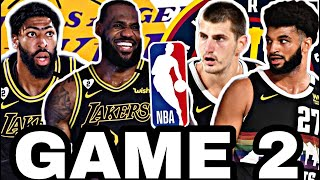 🟡EN DIRECTO: LOS ÁNGELES LAKERS vs DENVER NUGGETS GAME 2 🔥NBA Playoffs
