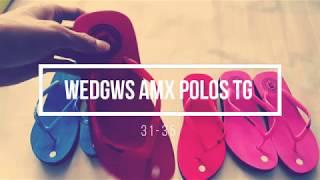 Wedges AMX Polos TG harga paling murah di bandingkan grosir sandal di kota anda.