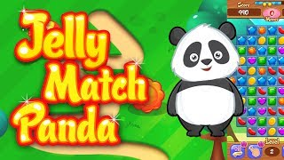 Jelly Crush Panda - New Match 3 Candy Crush Style Game