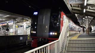 名鉄2200系 急行伊奈行き 笠松駅発車