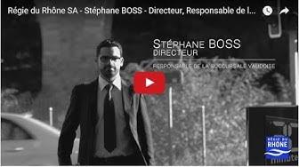 Régie du Rhône SA, Stéphane BOSS, Directeur.