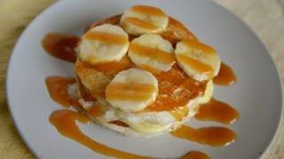 Ihop Caramel Banana Pancakes - Copykat.com Live