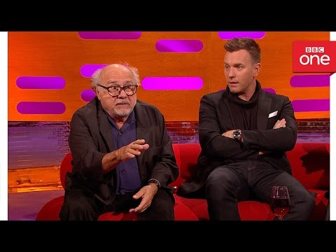 Thumbnail: Danny DeVito was attacked by a monkey: The Graham Norton Show 2016 | Extra - BBC One