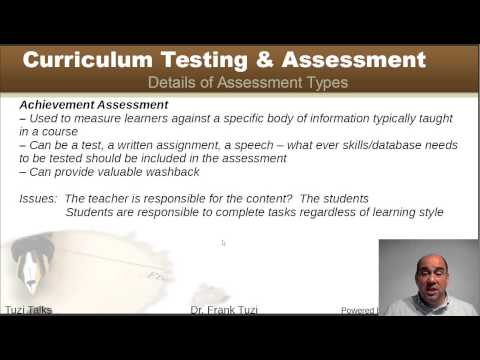Monitoring & Assessment  of 2nd/foreign Language Curriculum