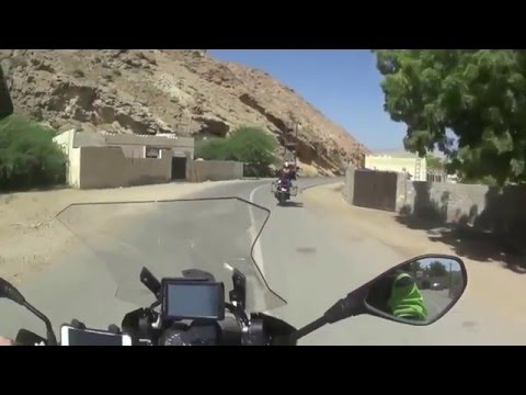 BMW R1200GS 2015 Dubai to Muscat Ride.