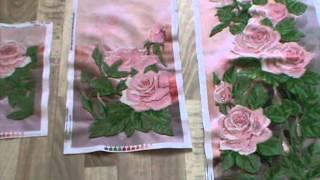 Вышивка бисером. Отчет №9 Розовый сад