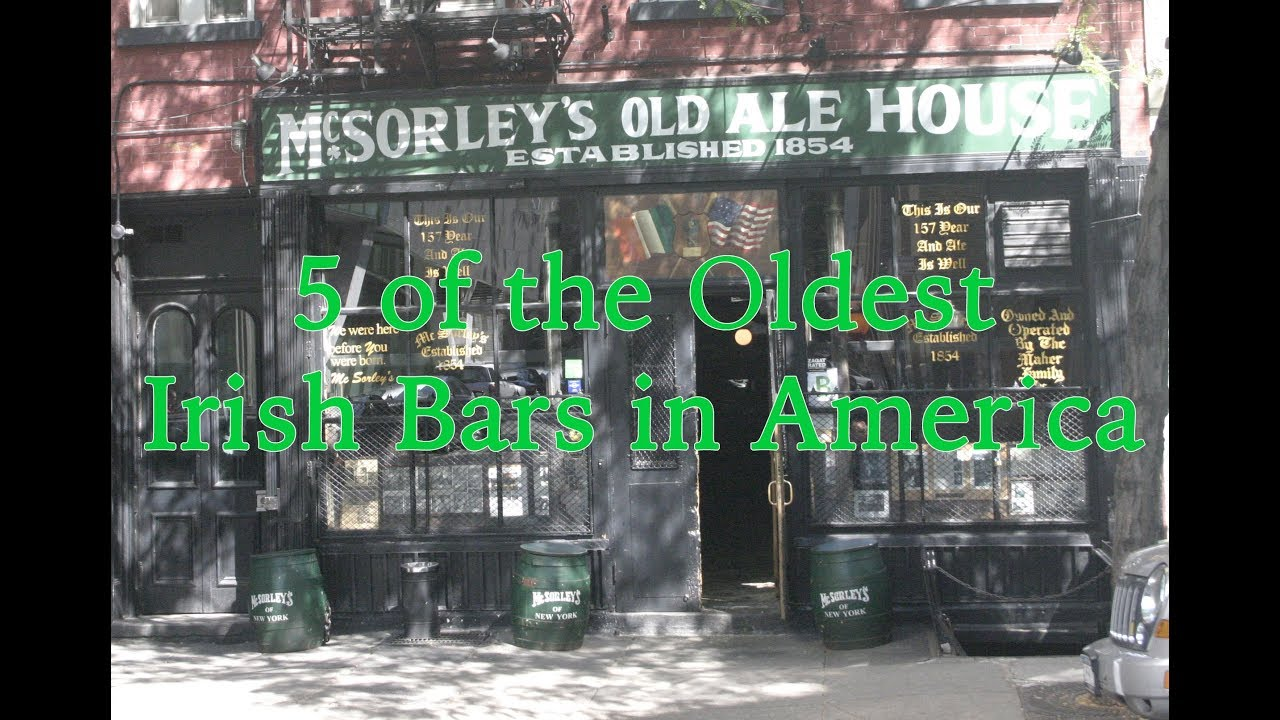 5 of the Oldest Irish Bars in America