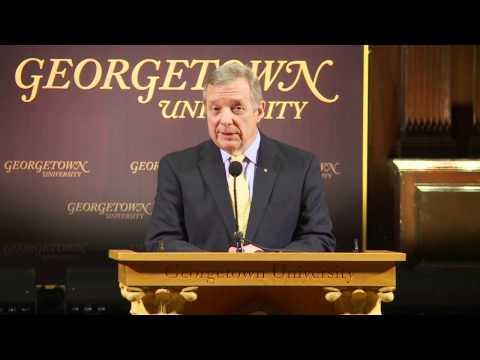 Sen. Dick Durbin Speaks on Immigration Reform at Georgetown