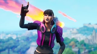"""NEW EPIC SKIN """"FREESTYLE"""" AND """"RED CAMOUFLAGE"""" ENVELOPMENT! Fortnite"""