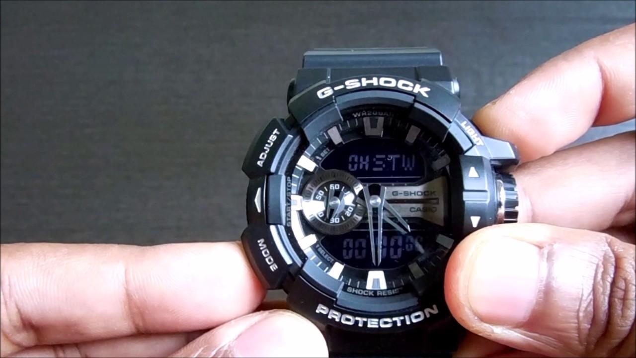 Casio G Shock Ga 400gb 1adr G649 Youtube 1a9